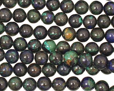 Azurite Malachite Round 6mm