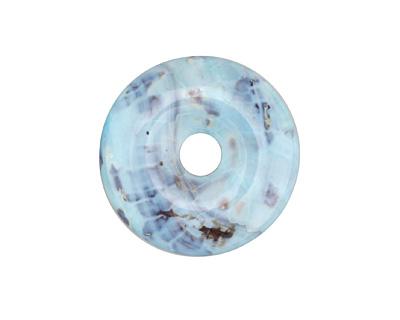 Arctic (light) Terra Agate Donut 35mm