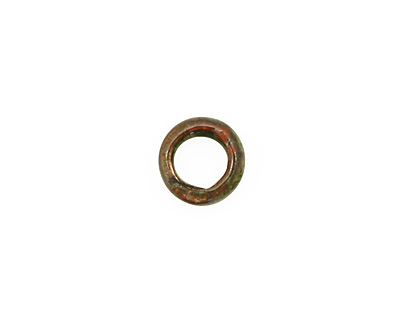 C-Koop Enameled Metal Olive Ring 10-11mm