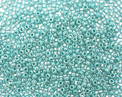 TOHO Opaque Lustered Turquoise Round 11/0 Seed Bead