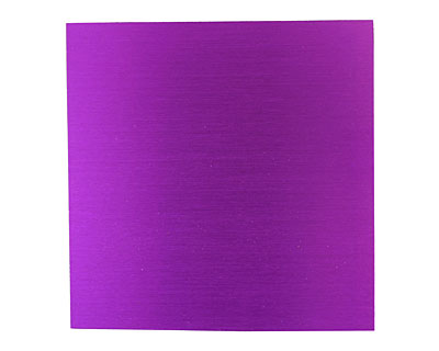 Lillypilly Purple Anodized Aluminum Sheet 3