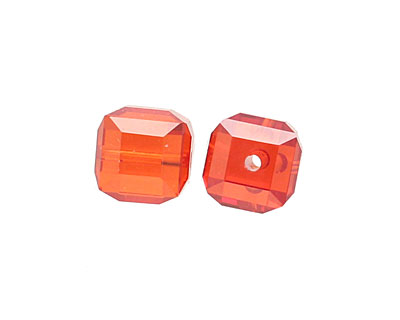 Poppy Faceted Cube 8mm