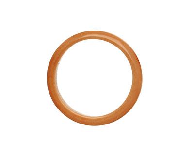 Tagua Nut Caramel Ring 22mm