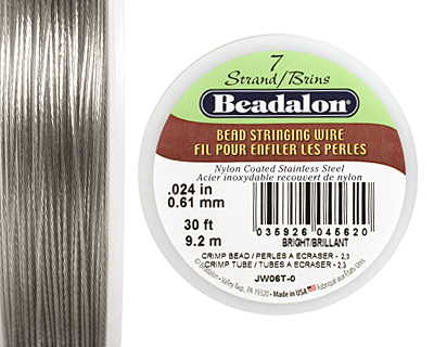 Beadalon Bright .024