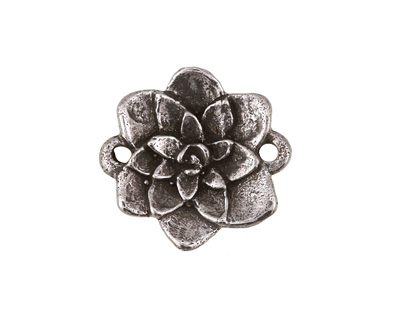 Green Girl Pewter Azalea Link 24x23mm