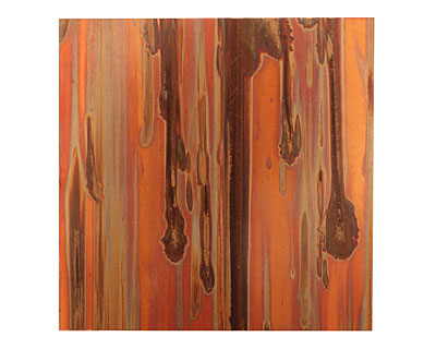 Lillypilly Enchantment Patina Copper Sheet 3