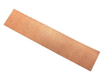 Concrete Patterned Copper Strip 2.5