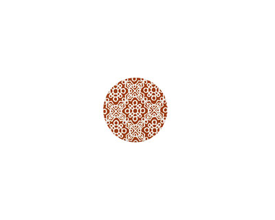 Lillypilly Bronze Baroque Anodized Aluminum Disc 11mm, 24 gauge