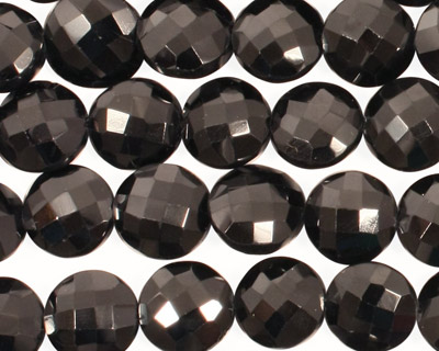 Spinel Faceted Coin 10-11mm
