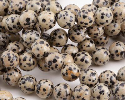 Dalmatian Jasper Round 10mm