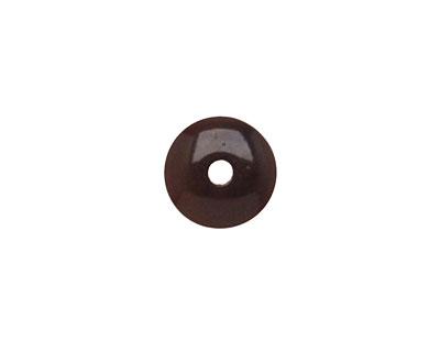 Tagua Nut Espresso Rondelle 3x8mm