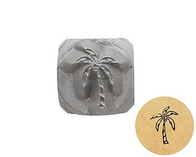 Palm Tree Metal Stamp 6mm