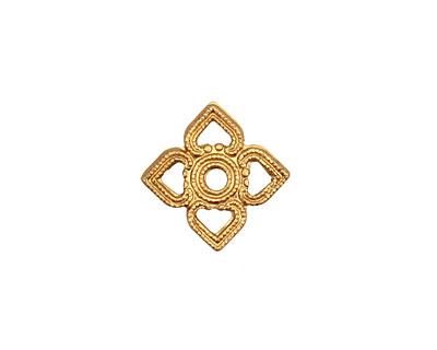 Brass Openwork Diamond Connector 11mm