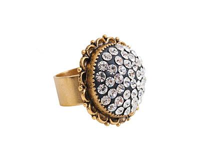 Nunn Design Antique Gold (plated) Ornate Ring Kit