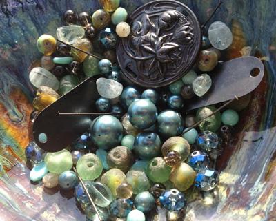 Vintaj Spring Rain Bracelet/Necklace Kit
