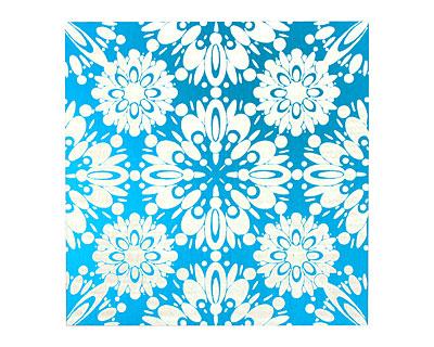 Lillypilly Turquoise Kaleidoscope Anodized Aluminum Sheet 3