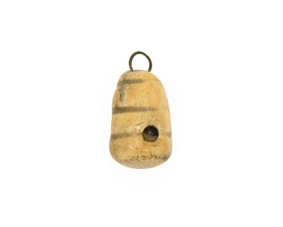 Jangles Ceramic Woodland Bee Hive 10x19-20mm