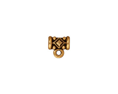 TierraCast Antique Gold (plated) Noble Bail 8mm