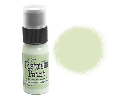 Tim Holtz Bundled Sage Distress Paint Dabber 29ml