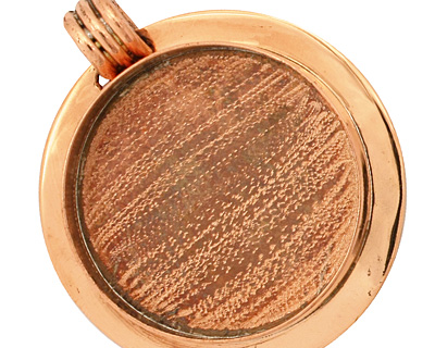 Copper Lipped Circle Bezel 36mm