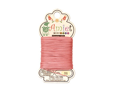 Salmon Amiet Thread 22 yards