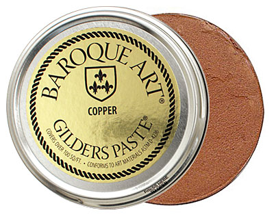 Copper Baroque Art Gilders Paste 100ml