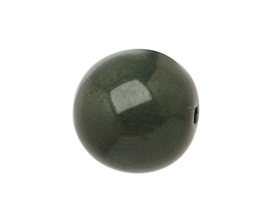 Tagua Nut Forest Green Round 20mm