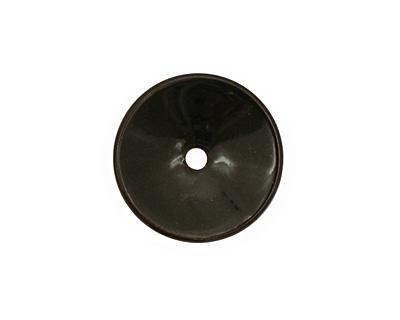 C-Koop Enameled Metal Black Disc 3-4x18-20mm