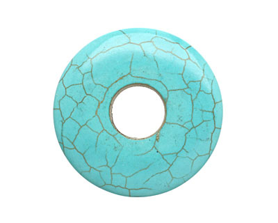 Blue Magnesite w/ Matrix Donut 40mm