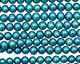 Teal Semi-Round 4.5-5mm