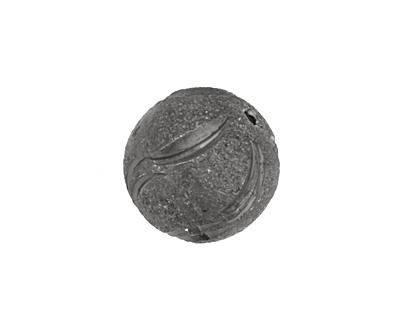 Gunmetal Spiral Round 18mm