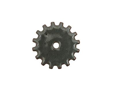 C-Koop Enameled Metal Steel Gray Closed Gear 19mm