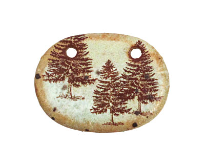Kylie Parry Ceramic Evergreen Tree Focal 35x25mm