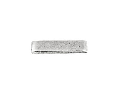 Nunn Design Antique Silver (plated) Simple Toggle Bar 22mm