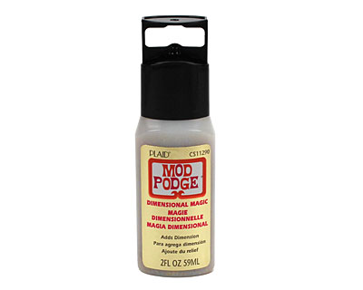 Mod Podge Dimensional Magic Gold Glitter 2 fl. oz.