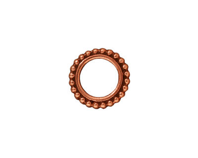 TierraCast Antique Copper (plated) 8mm Round Bead Frame 14mm