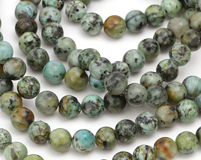 African Turquoise Round 8mm