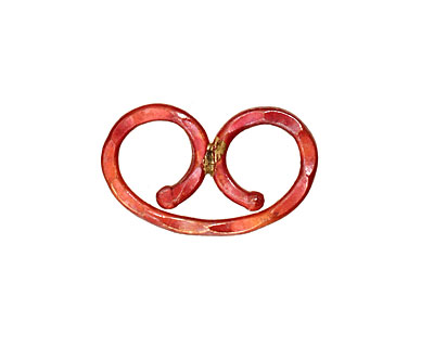 Patricia Healey Copper Double Loop Link 24x15mm