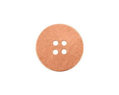 Copper Button Blank 19mm