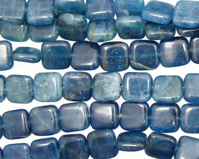 Pacific Blue Apatite Puff Square 8mm