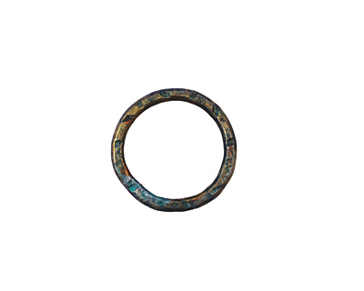 Missficklemedia Patinated Peacock Blue Link 16mm