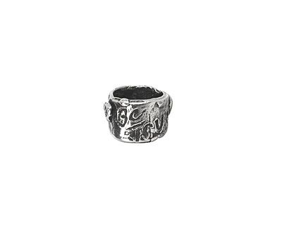 Rustic Charms Sterling Silver Be True Slide 11x6mm