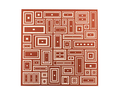 Lillypilly Bronze Deco Rectangle Anodized Aluminum Sheet 3
