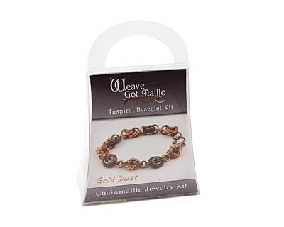 Weave Got Maille Gold Dust Inspiral Bracelet Kit
