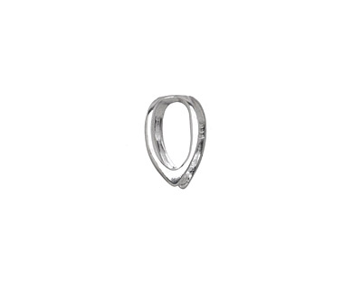 Amoracast Sterling Silver Curvature Bail 7x12mm