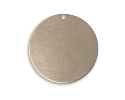 Vintaj Pewter Circle Blank 25mm