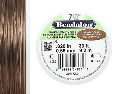 Beadalon Bronze .026