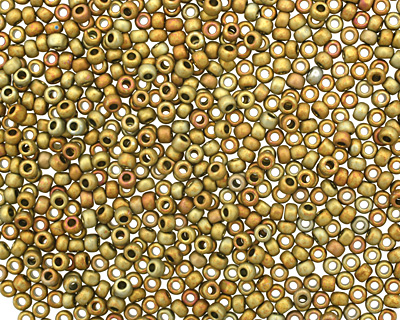TOHO Higher Metallic Frosted Carnival Round 11/0 Seed Bead