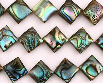 Abalone Diamond 13-14mm