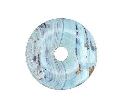 Arctic (light) Terra Agate Donut 41mm